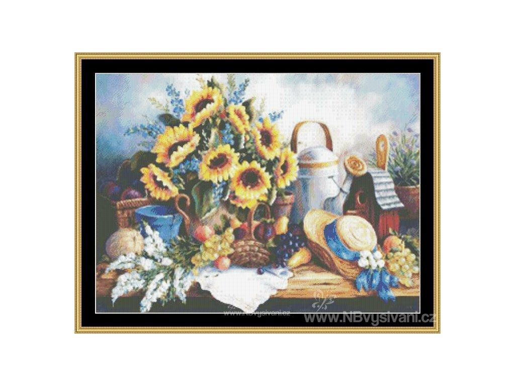 MS-BF46 Sunflowers (předloha)