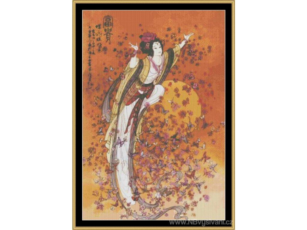MS-ASA06 Goddess Of Wealth (Aida 18ct)