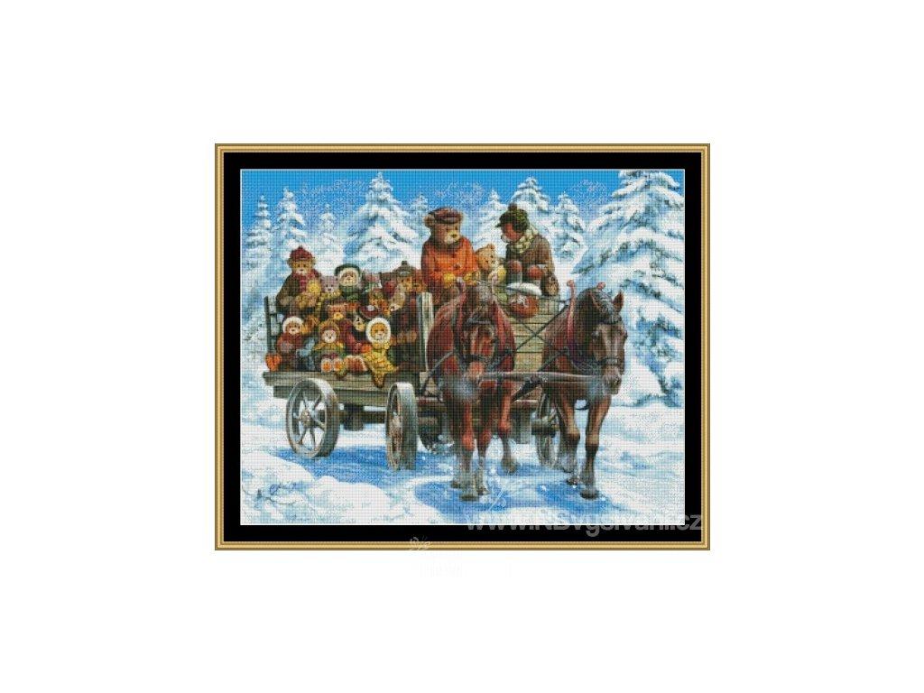 MS-JOBIN33 Snow Ride (předloha)