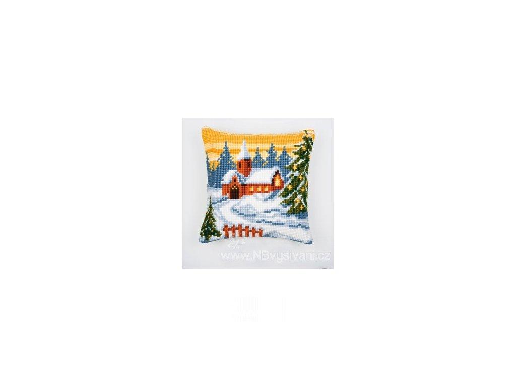 VE1200-137 Polštář s vánoční atmosférou