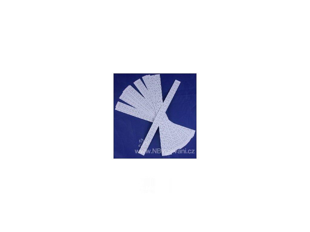 PA700.925 Náhradní papírové kartičky (25ks)