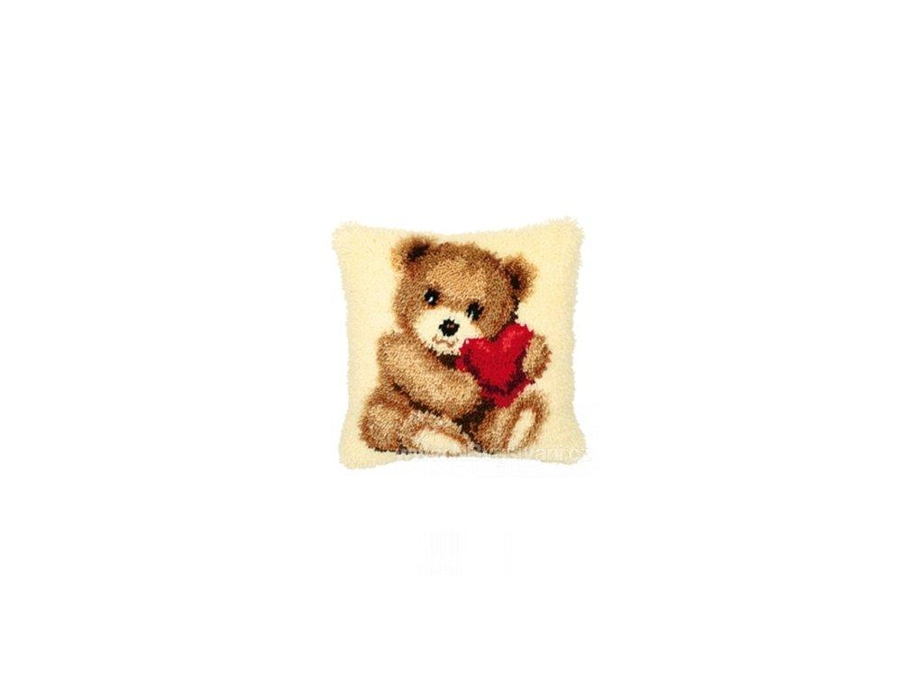 VE2560-3621 Polštářek s medvídkem (tapico)
