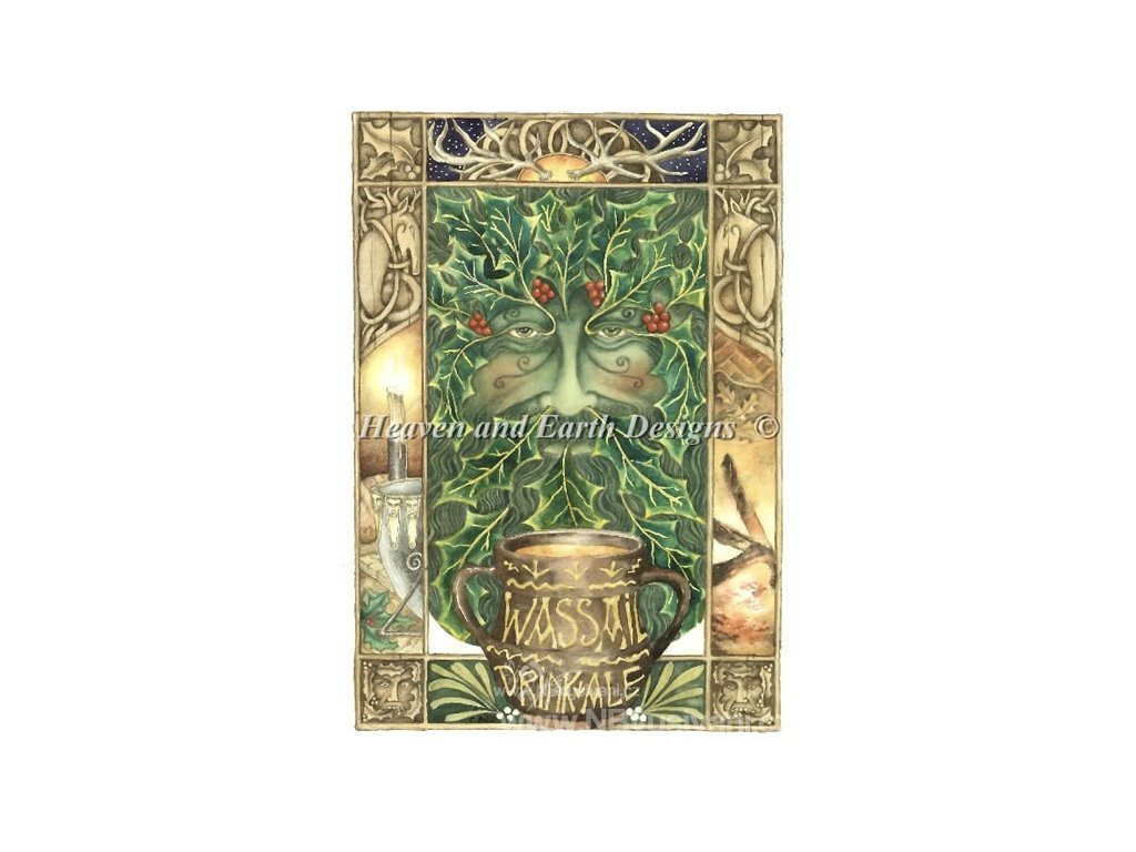 HAED - The Wassail Cup (Aida 18ct)