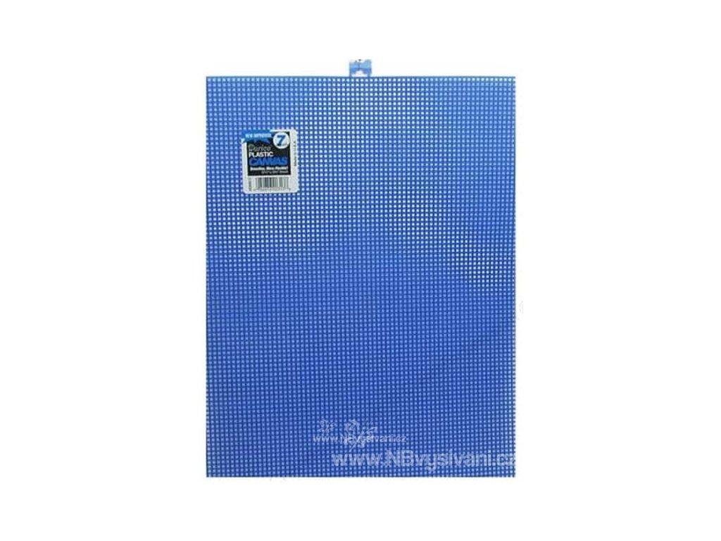 D33900-12 Plastová Aida 7ct - Dark Blue  (34x27cm)