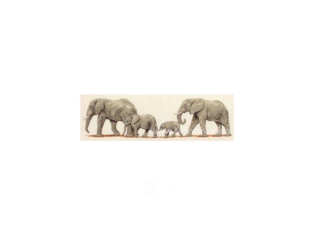 A-PCE732 Sloní průvod