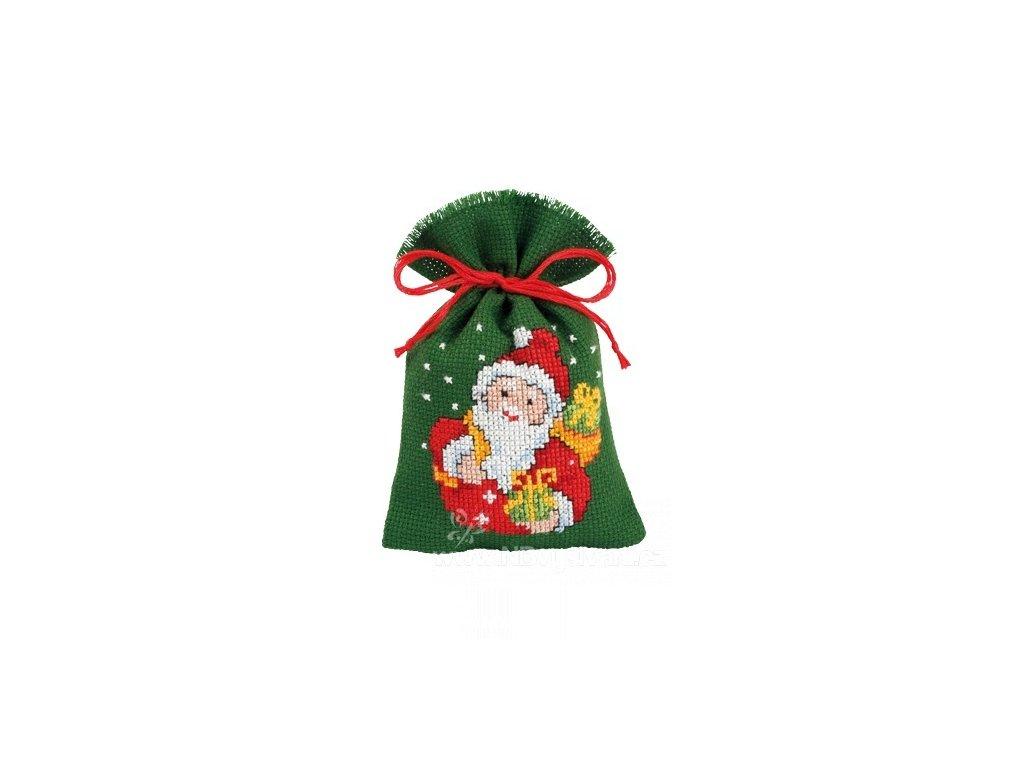 VE2002-46.406 Dekorační sáček - Santa