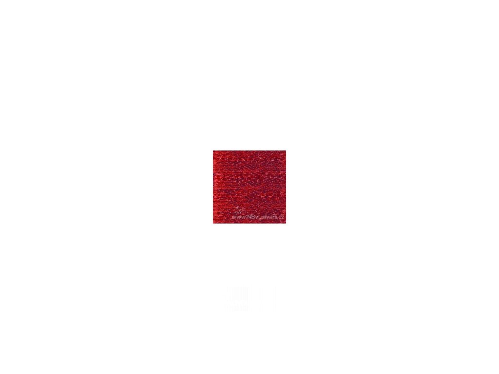 L318 Anchor Lamé Metallic - Christmas Red