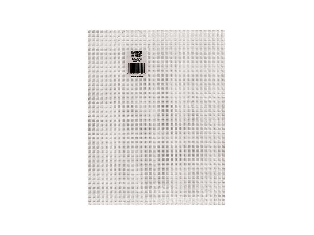 33030-1 Plastová aida 10ct čirá (35x27cm)