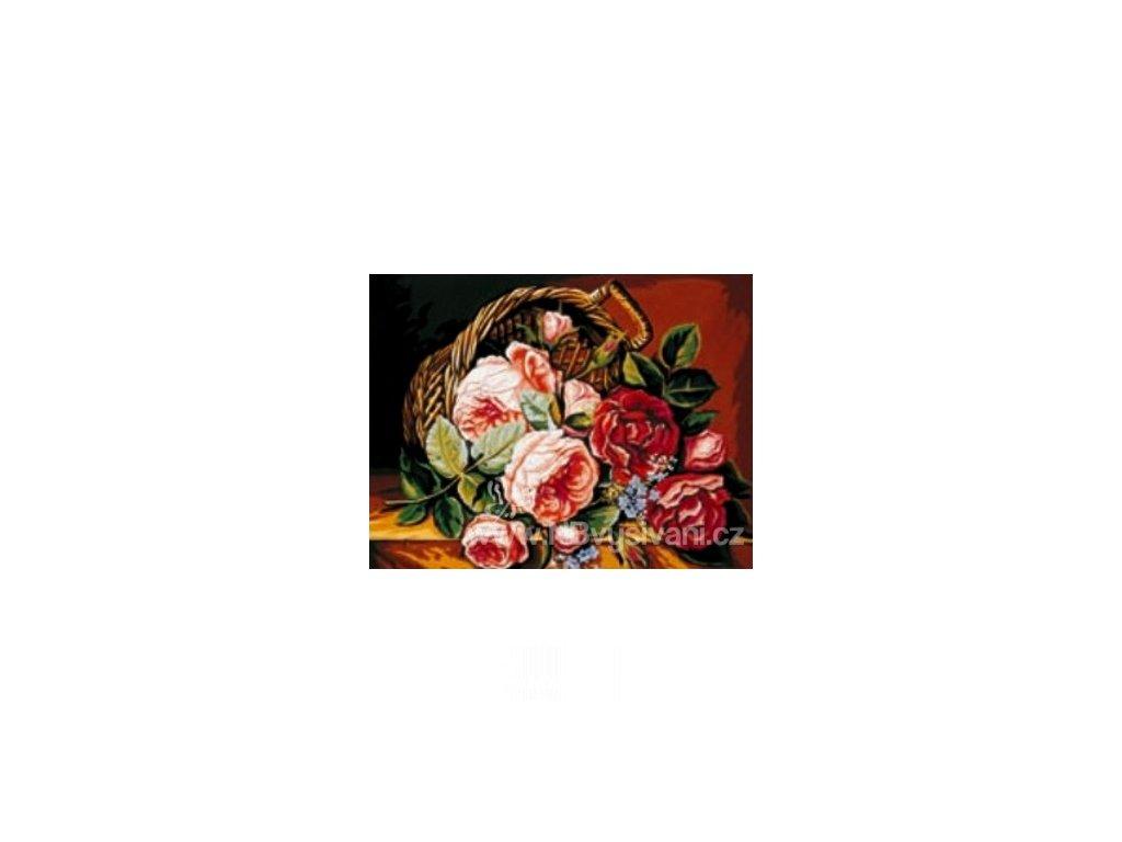 ARP988.0142.148 Koš s růžemi