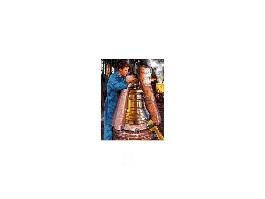 ARP988.0142.510 Odlévání kostelního zvonu