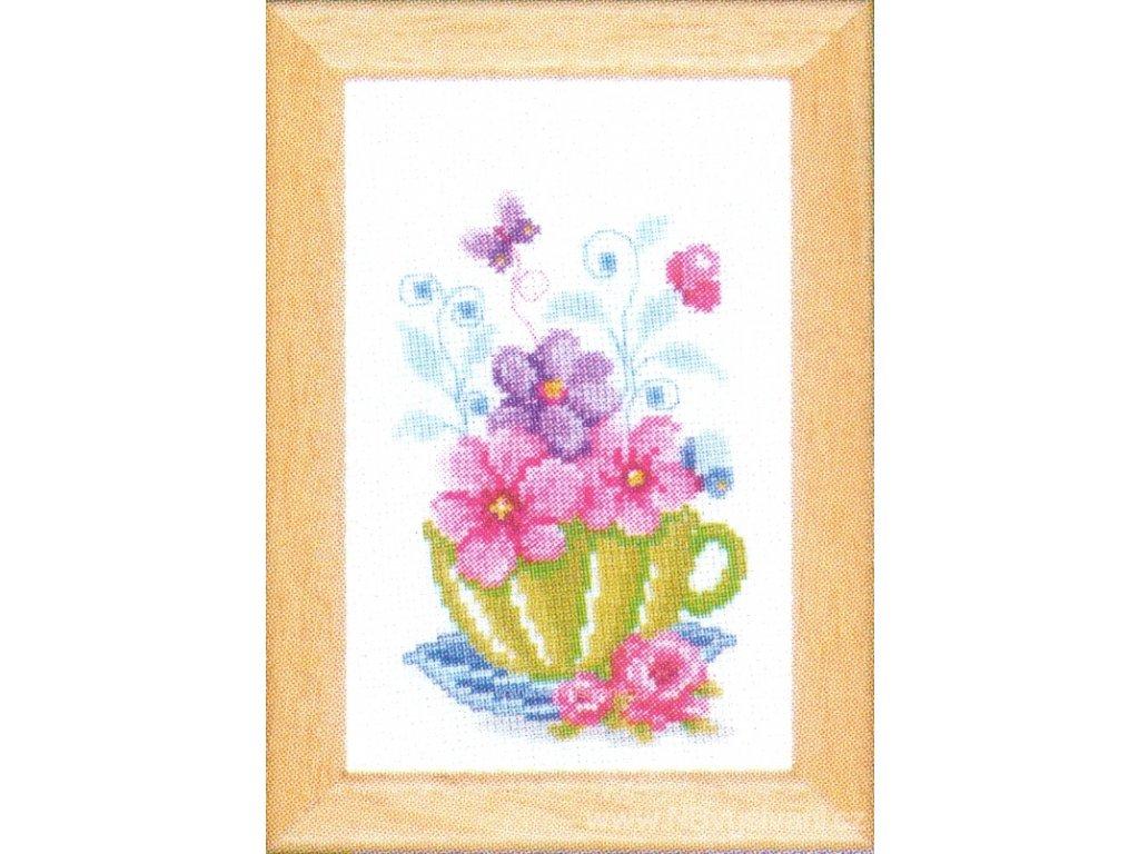 VE-PN0143922 Šálek s květy