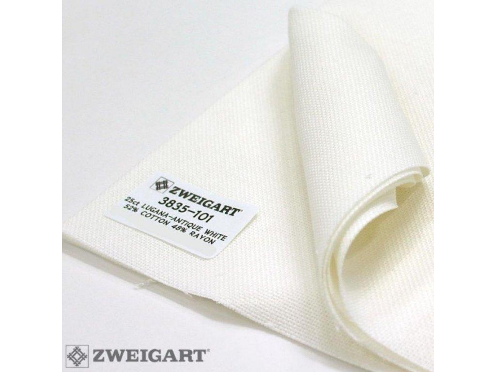 ZW3835-101 Lugana 25ct Antique White (140x100cm)