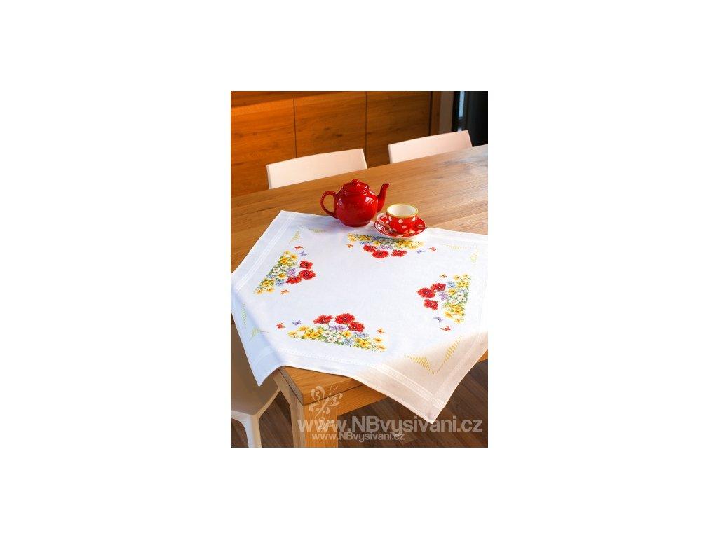 VE-PN0145162 Ubrus s květinovým motivem (80x80cm)