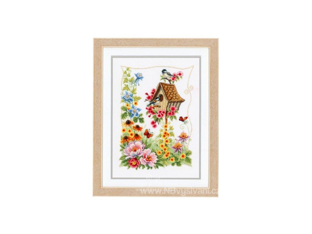 VE-PN0145026 Zahrada s ptačí  budkou