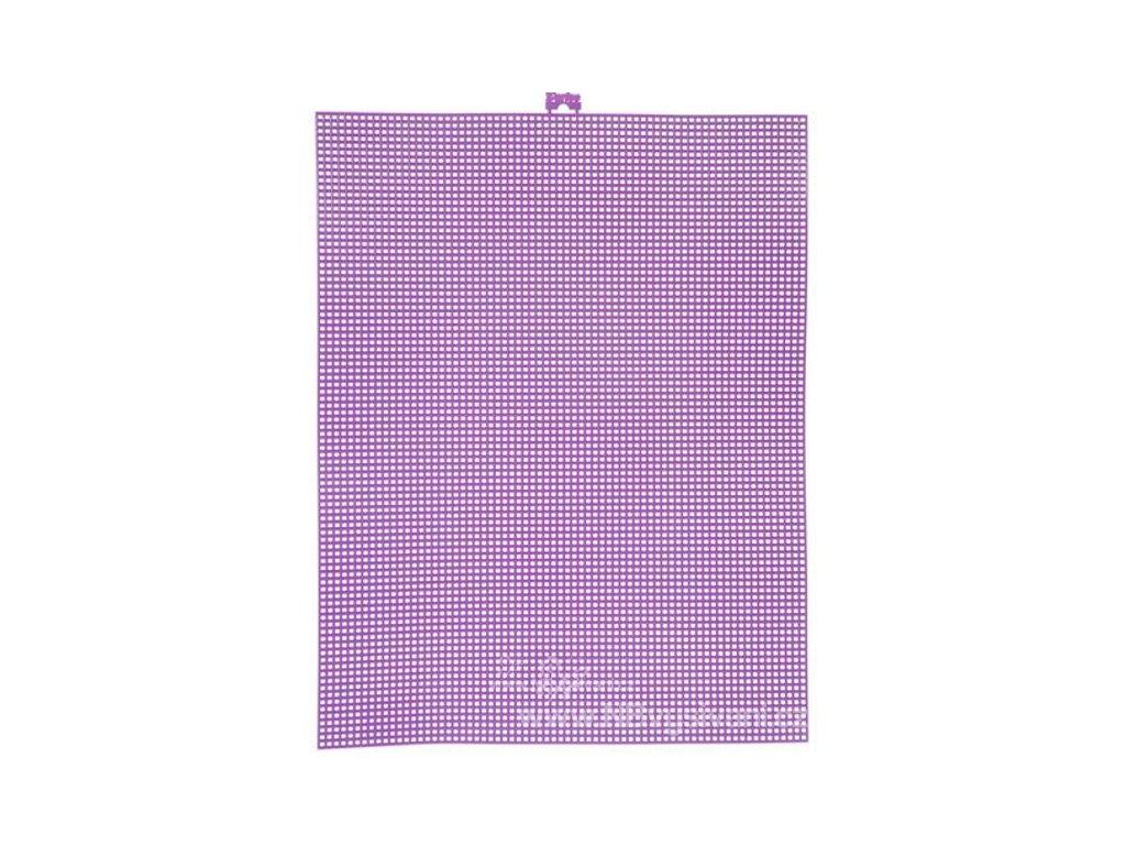 D33900-14 Plastová Aida 7ct - Lavender (34x27cm)