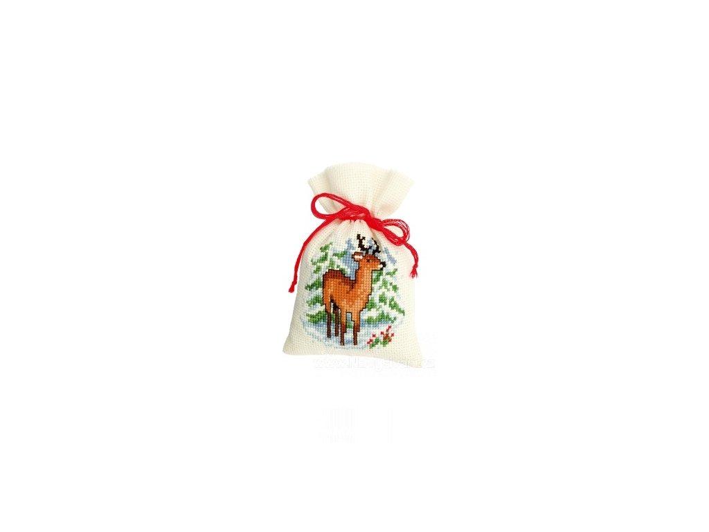 VE-PN0145443 Dekorační sáček - srnec