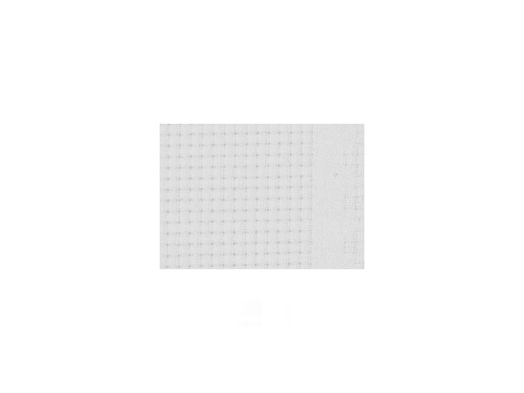 HOF76811-10 Vyšívací stuha na stůl - White (1m)