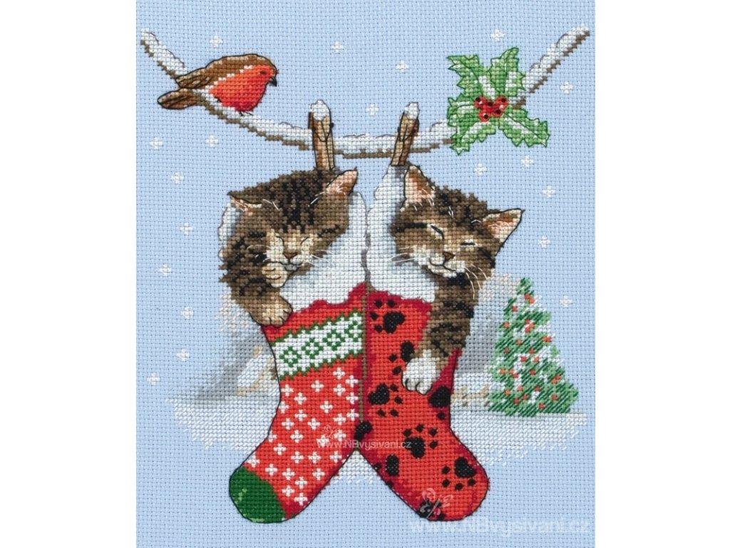 A-PCE0504 Vánoční koťata (doprodej)