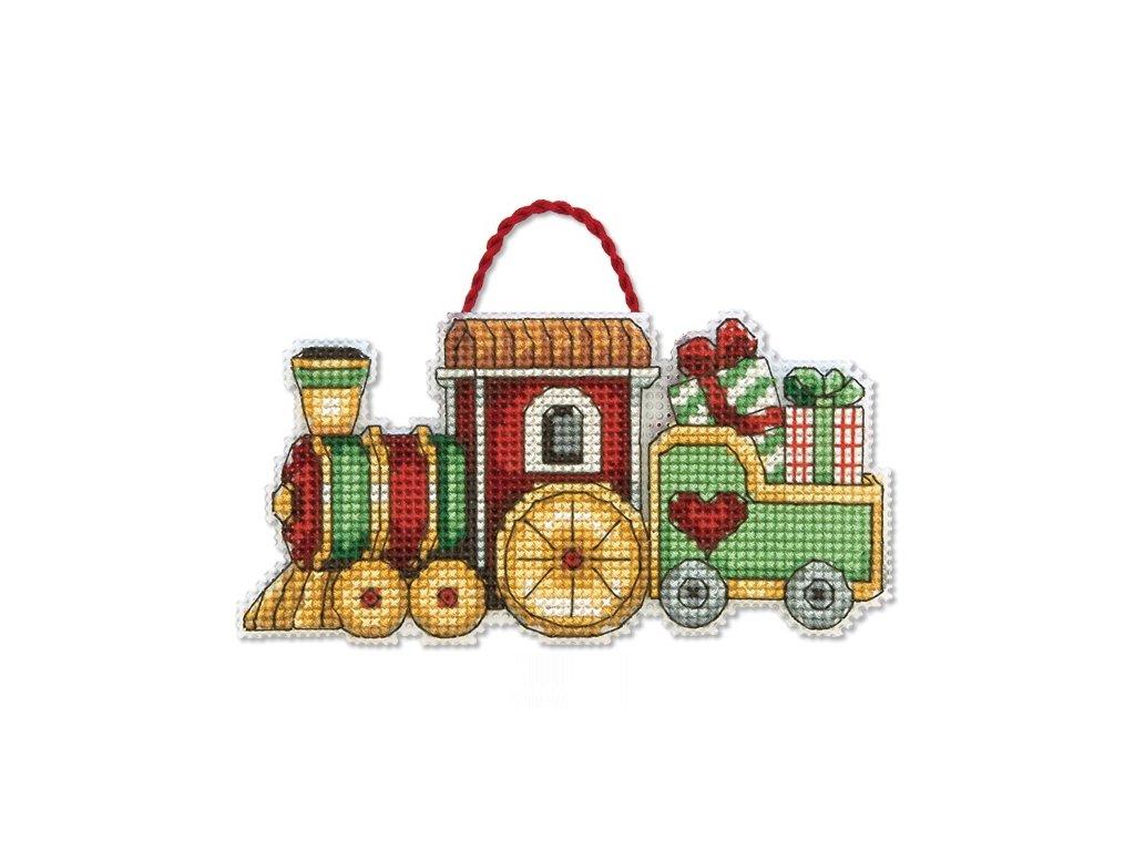 70-08897 Train Ornament - dekorace
