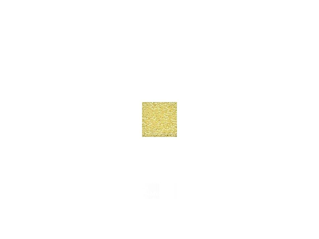 02002 Korálky - Yellow Creme (4,54g)
