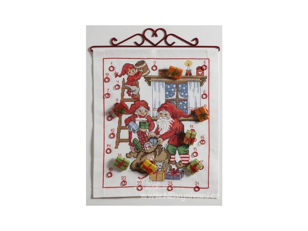 A-9240000-02514 Vánoční kalendář se skřítky (doprodej)