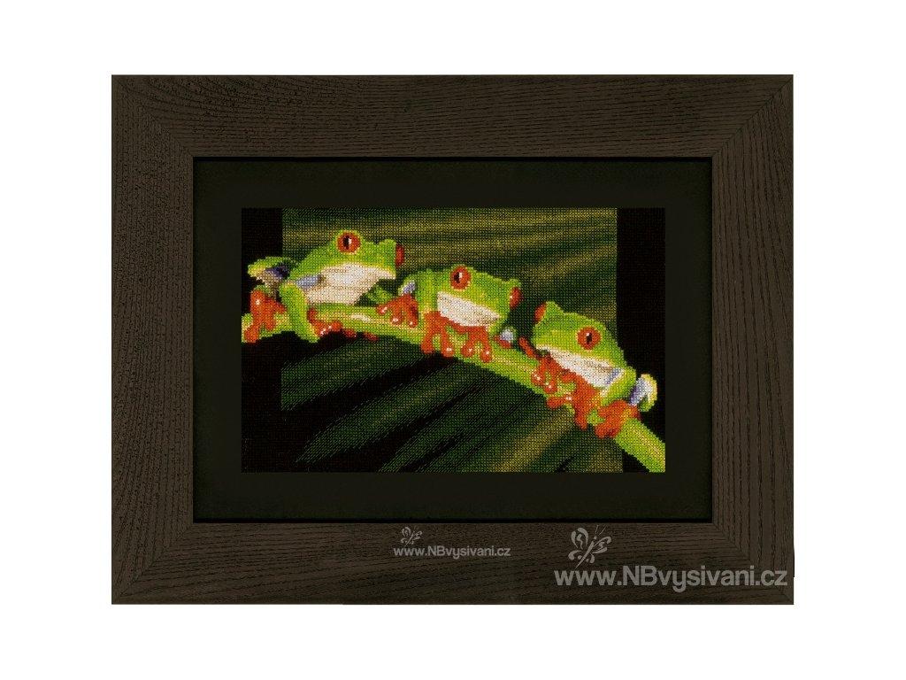 VE-PN0146866 Tři zelené žabičky