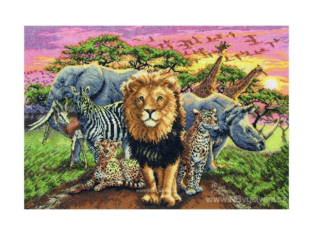 AM5678000-01214 African Beasts