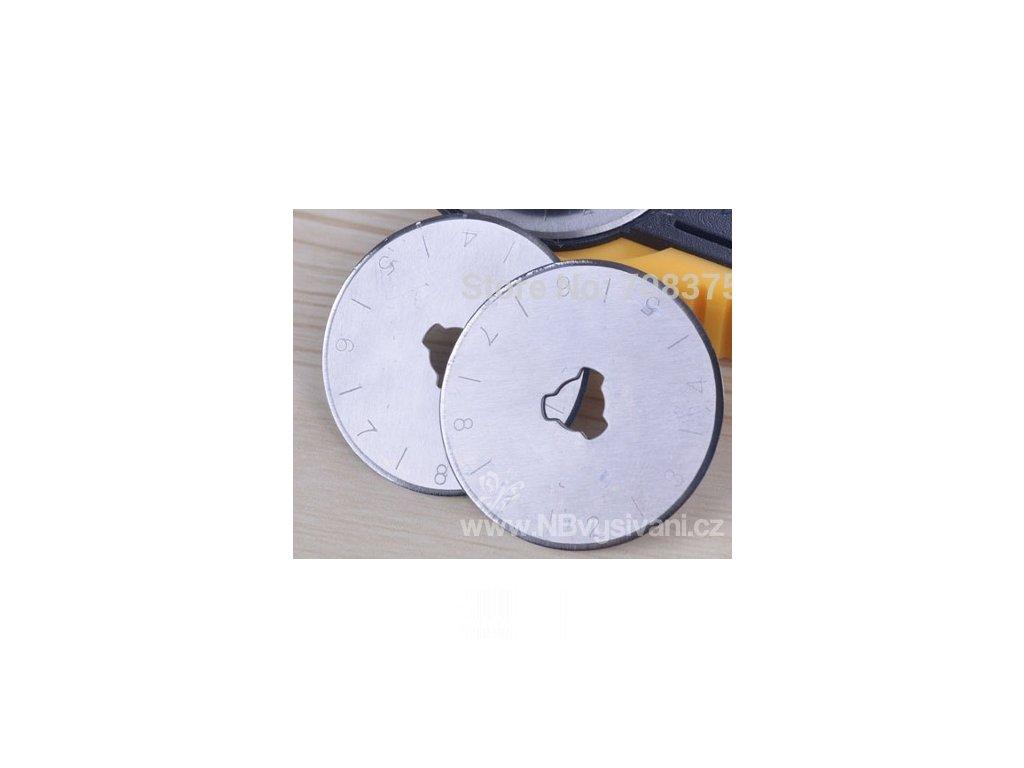 2515111 Náhradní rotační kolečka 45mm (2ks)