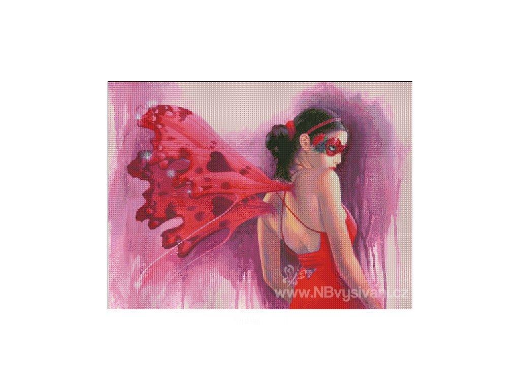 HAED - Valentine Masquerade (Lugana 25ct)