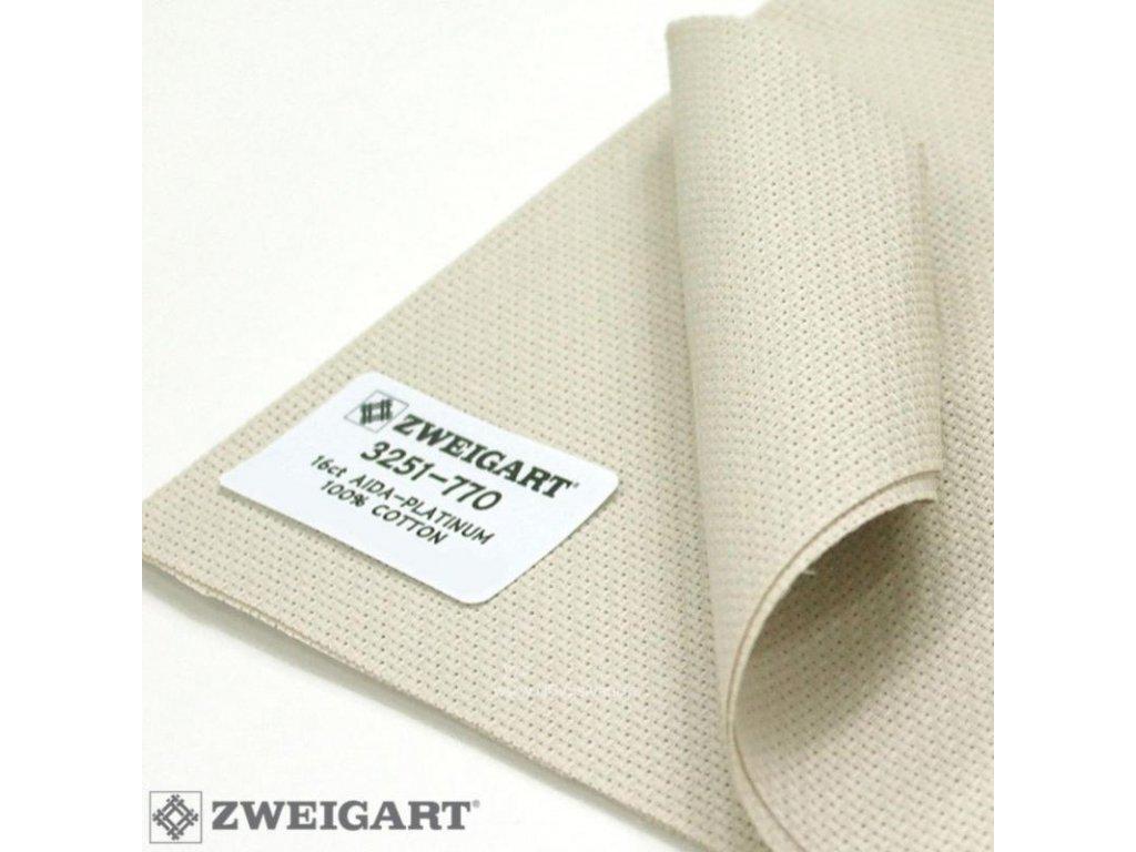 ZW3251-770 Aida 16ct Platinum (55x100cm)