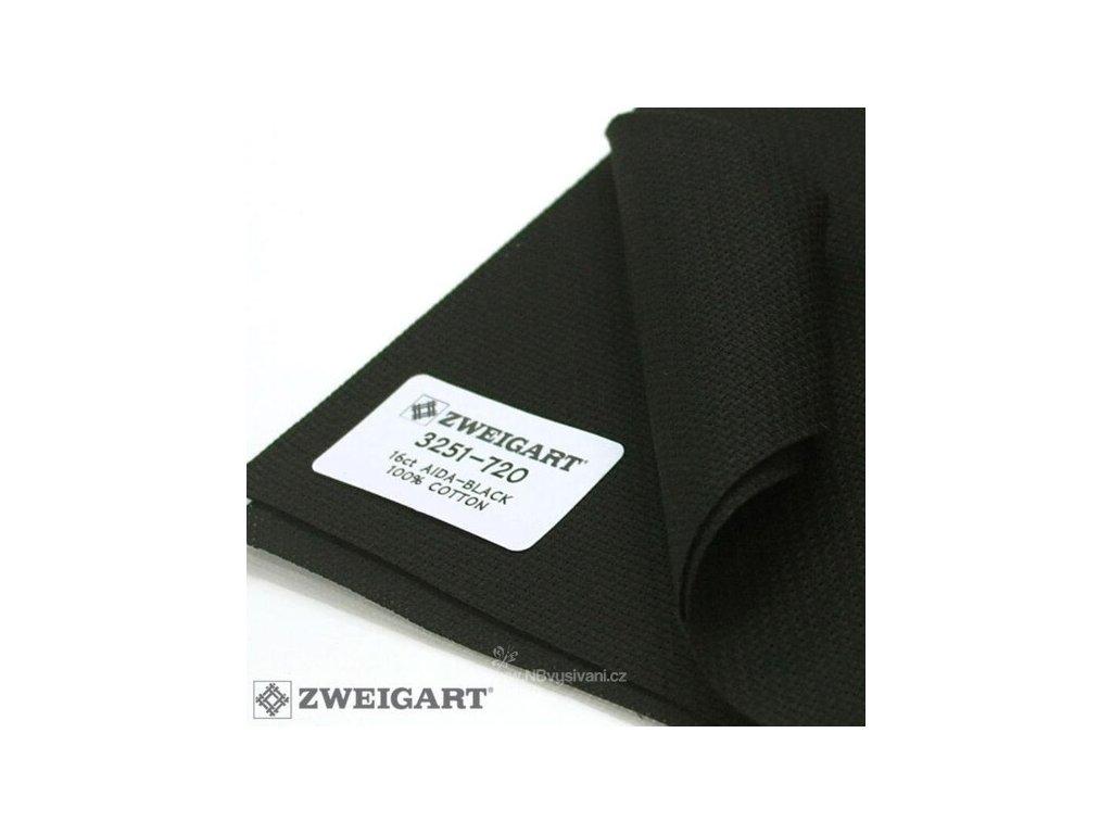 ZW3251-720 Aida 16ct Black (55x50cm)