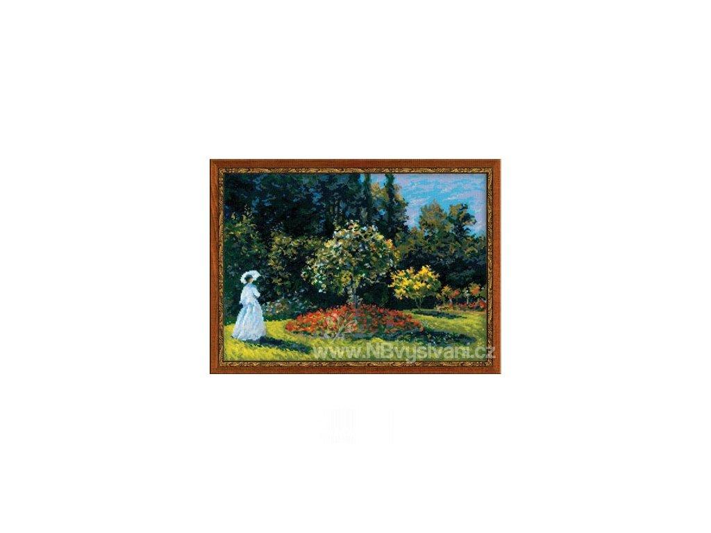 RIO-1225 Žena v zahradě - Monet