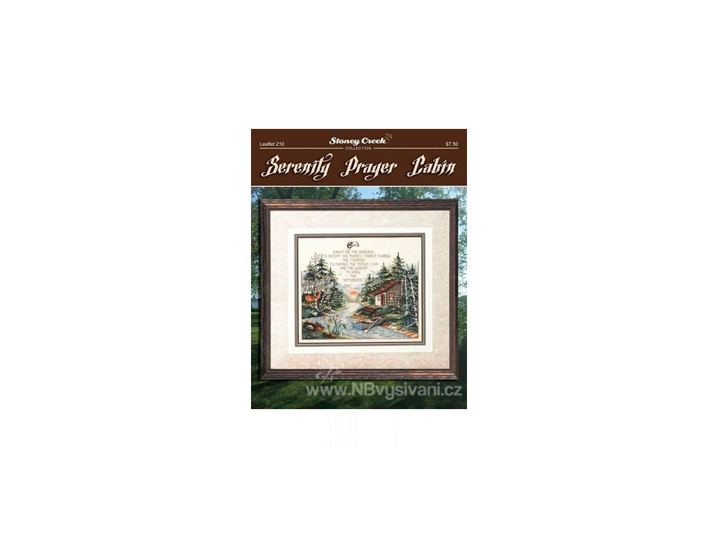H-12-1587 Serenity Prayer Cabin (předloha)