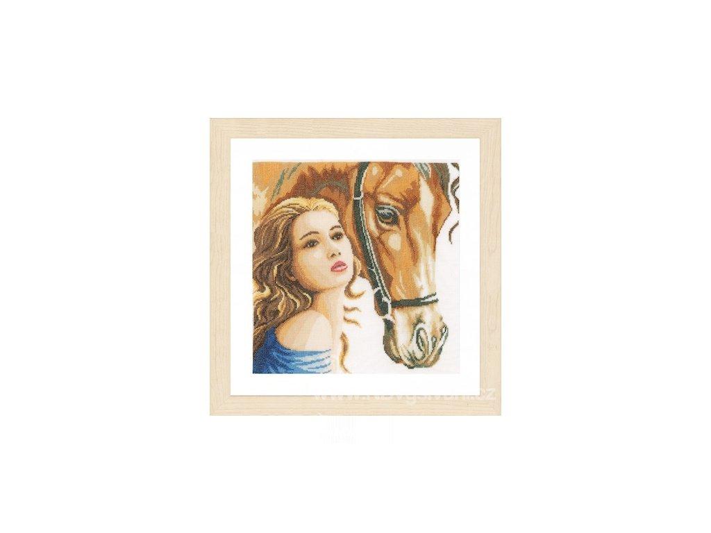 L-PN0158324 Dáma a její kůň