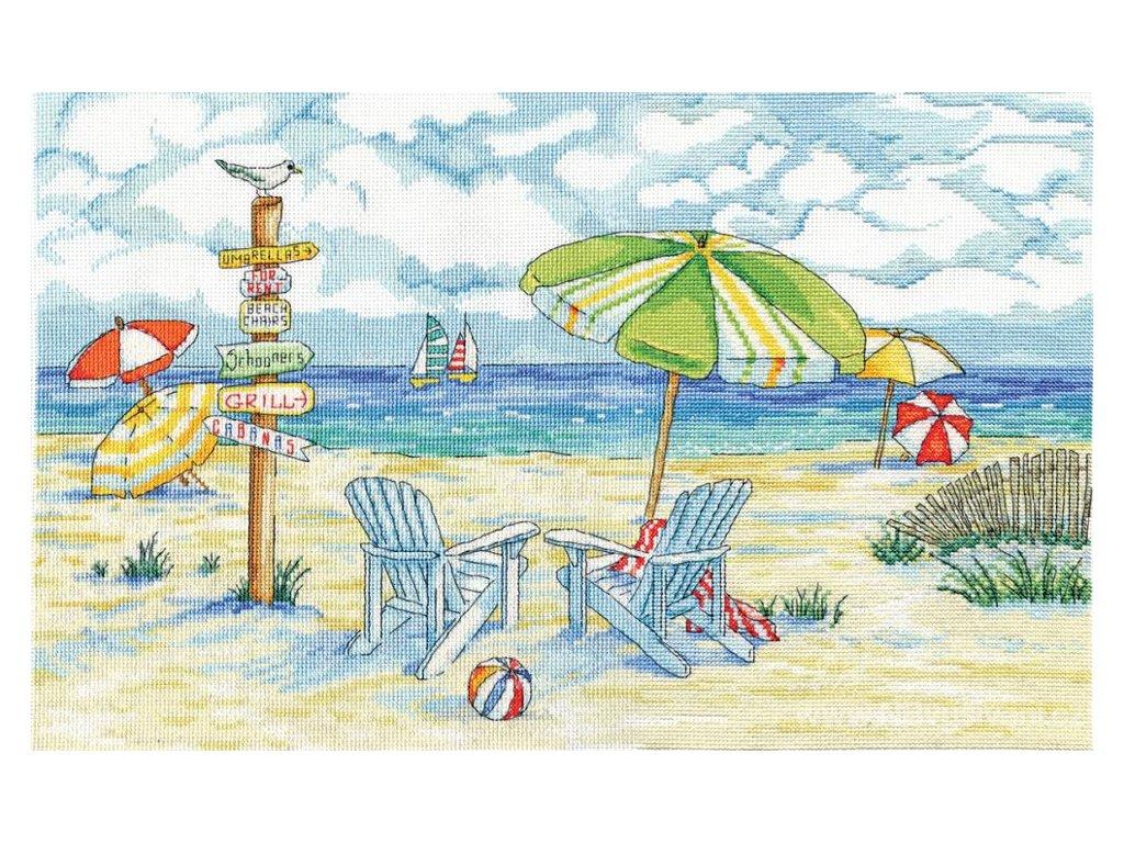 DW-2862 Rozcestník na pláži