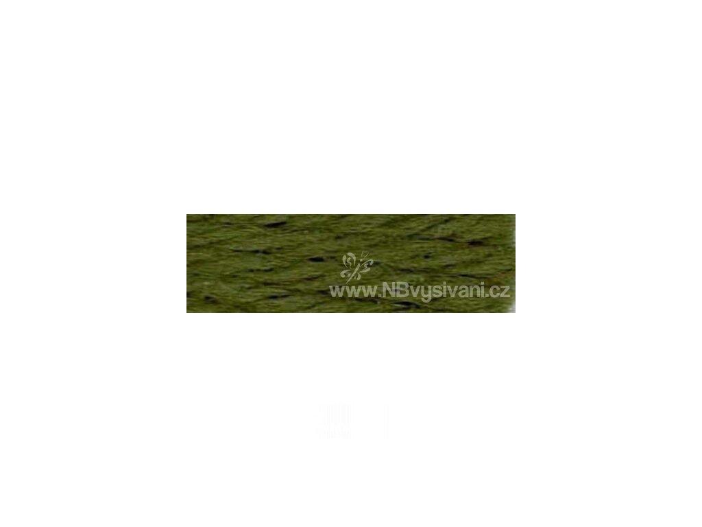 A486 DMC-7890 Vlněná příze 8m (Very Dk. Khaki Green)