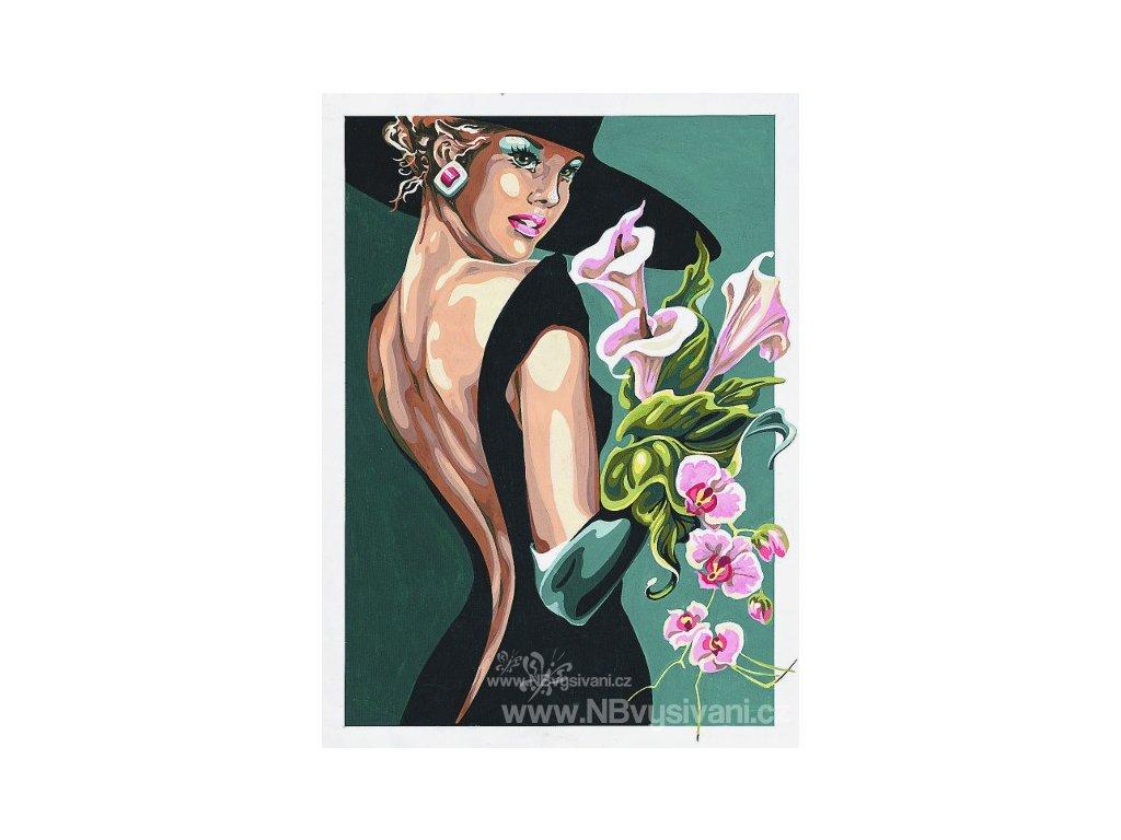 SEG-929.339 Elegantní dáma v černém