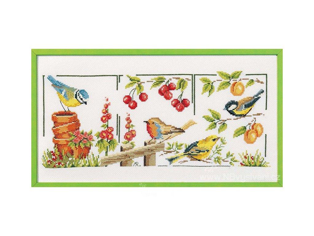 MARC-1992.4365 Ptáčci v zahradě