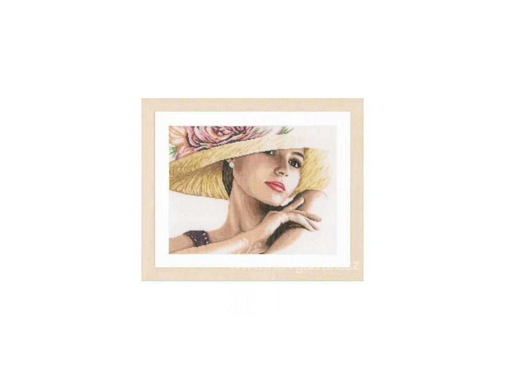 L-PN0168602 Dáma s kloboukem