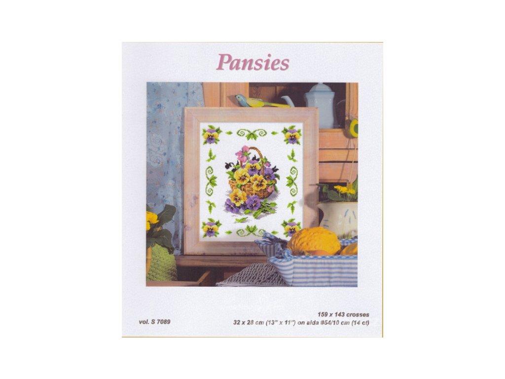 OR7089 Pansies (předloha)