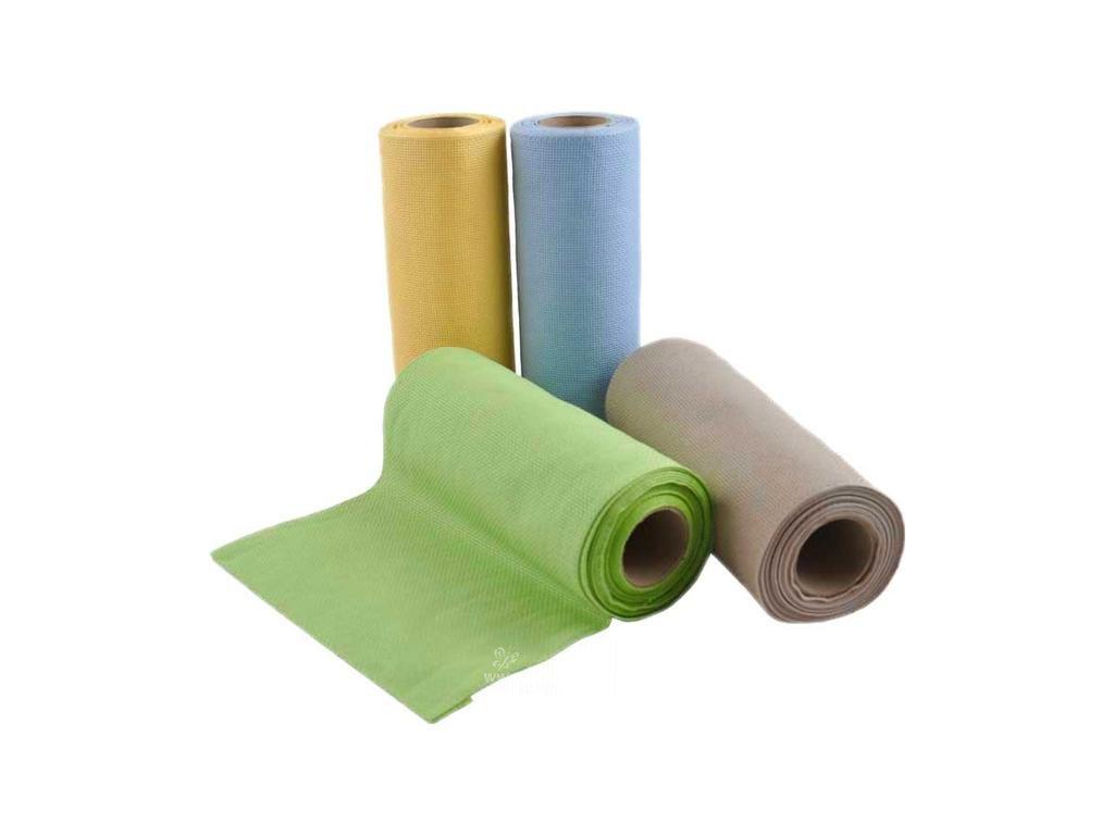 RICO-17582.20.45 Vyšívací lněná stuha šíře 20cm (50cm)