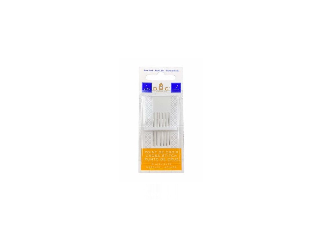 DMC-1771/3 Jehly pro křížkové vyšívání v.26 (6ks)