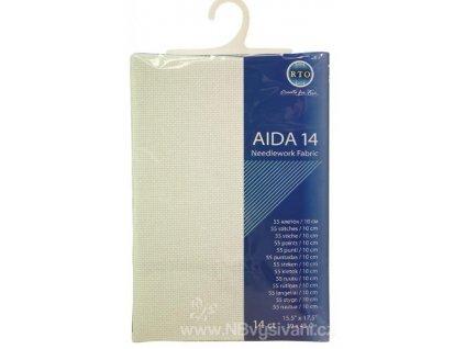 RT-14-100 Aida 14ct White (39x45cm)