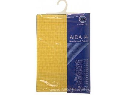 RT-14-002 Aida 14ct Yellow (39x45cm)