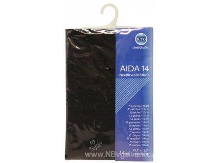 RT-14-095 Aida 14ct Black (39x45cm)