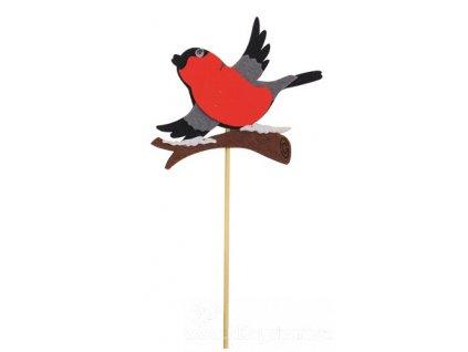 AP5877C Filcový ptáček na špejli (8cm)