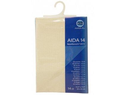 RT-14-264 Aida 14ct Ecru (39x45cm)