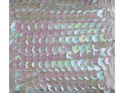 ST8065-801 Dekorační flitry v pásku perleťově bílé (5m)