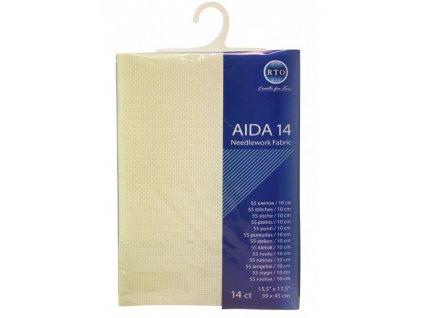 RT-14-101 Aida 14ct Ivory (39x45cm)