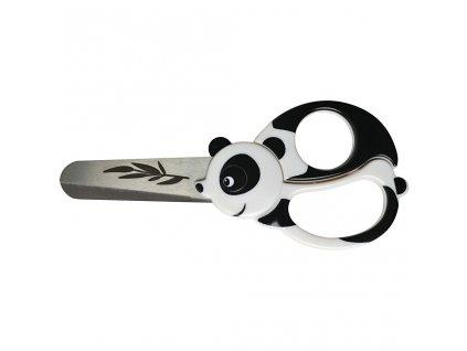 CRE-1382 Universální nůžky pro děti - panda (13cm)